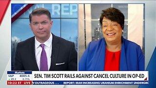 SEN SCOTT RAILS AGAINST CANCEL CULTURE