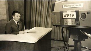 Family remembers WPTV's first News Director, Bill Gordon