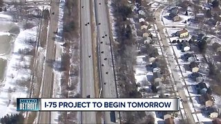 I-75 project to begin Saturday