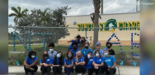 Students bring awareness to child abuse