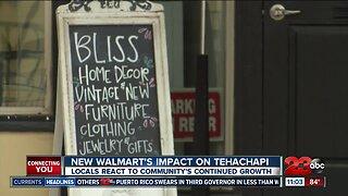 New Walmart impacting local businesses in Tehachapi?