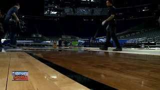 Native Spirit: Menominee company makes wood for Final Four
