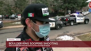 'I'm still shaking': King Soopers employee recounts deadly mass shooting