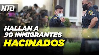 Hallan a 90 inmigrantes hacinados en Texas; Scott: No a los sueños socialistas   NTD