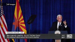 Mike Pence returns to Arizona