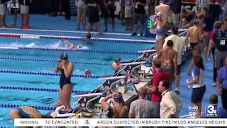 Preperations for Olympic Swim Trials underway
