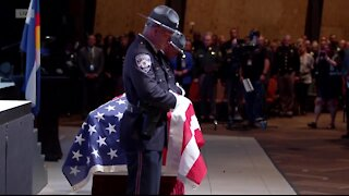 Retired police officer describes traditions during police funerals
