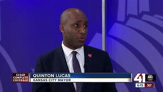Mayor Lucas talks COVID-19, election, homicides