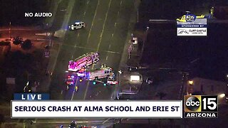 One person killed, child hospitalized after being hit in Chandler