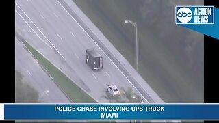 South Florida UPS pursuit