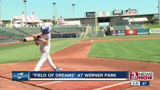 """Field of Dreams"" at Werner Park"