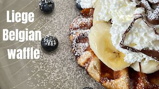 Dessert recipes: How to make Liege Belgian Waffles