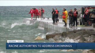 Teen girl flown to Children's Hospital after crews pull her from water at Racine beach