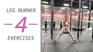 4 LEG BURNING Exercises 🍑