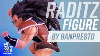 Raditz Figure - Banpresto Dragon Ball Z SCulture Big Budoukai 5 Volume 4