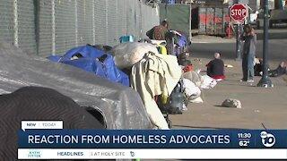 San Diego homeless advocates react to Newsom plan