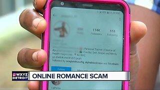 Online romance scams