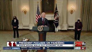 President focuses on pandemic