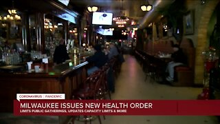 Restaurant owner questions fair treatment under revised Milwaukee COVID-19 order