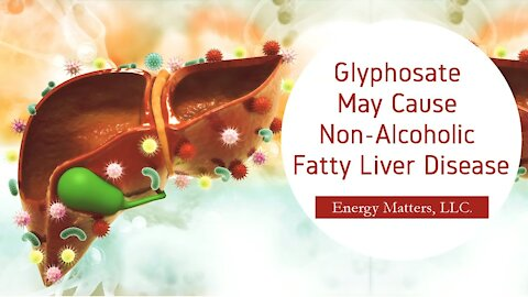 Glyphosate May Cause Non-Alcoholic Fatty Liver Disease!