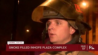 Firefighters investigate apartment fire in south Tulsa