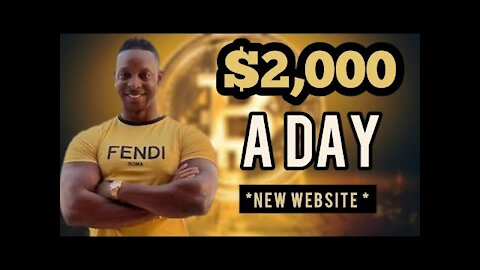 Make $2,000+ A Day For Free Using NEW Website (Make Money Online)   Free Bitcoin