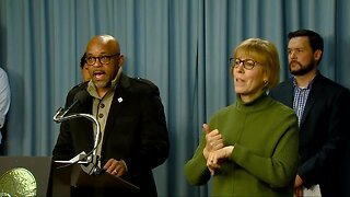 Denver Mayor Michael Hancock announces relief fund for small businesses