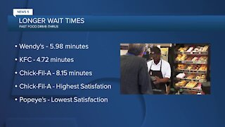 Longer wait times at fast food during pandemic