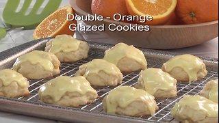 Mr. Food - Double Glazed Orange Cookies