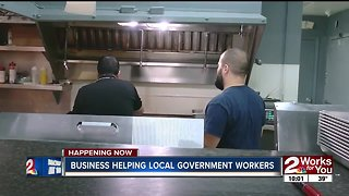 Bixby business helping local government workers
