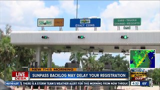 SunPass backlog could create vehicle registration delays