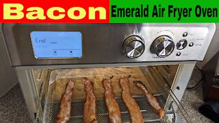 Bacon, Emerald Air Fryer Oven (Like Calmdo)