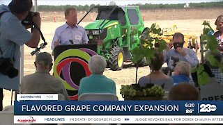 Flavored grape company expands local headquarters