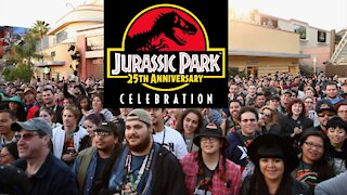 Jurassic Park 25th Anniversary Celebration at Universal Studios Hollywood