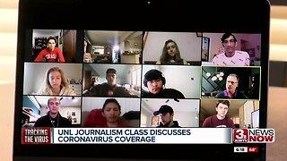 UNL journalism class discusses coronavirus coverage