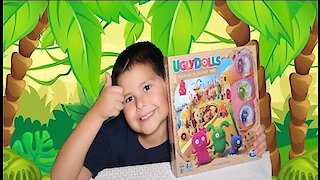 Ugly Dolls: Kids Board Game Toy Review