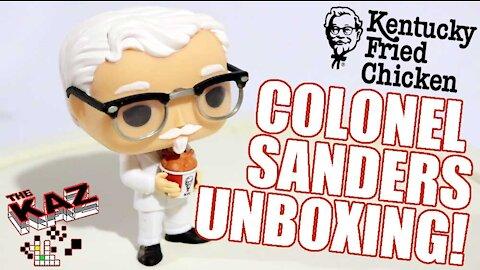 Colonel Sanders KFC Funko Pop Unboxing Video