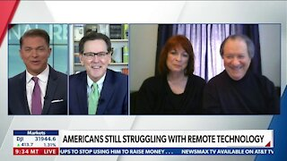 AMERICANS STILL STRUGGLING WITH REMOTE TECHNOLOGY