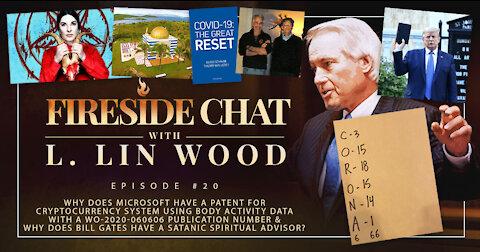 Lin Wood Fireside Chat #20 | Epstein, Gates, Abramovic & Microsoft's WO-2020-060606 Patent