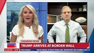 Trump Tours Unfinished Border Wall in Texas