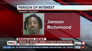Person of interest in Hendry County Murder case