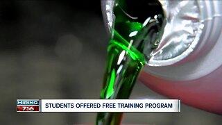 Students offered free training program