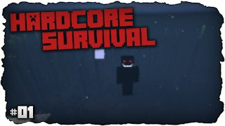 Very Beautiful And Special Spawn | Hardcore Survival | Minecraft | #1