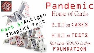 Pandemic House of Cards PART 1: ANTIGEN [Rapid] Test