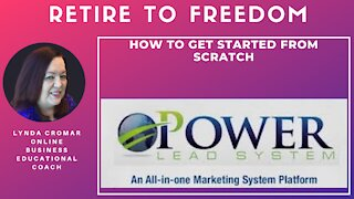 HOW TO GET STARTED FROM SCRATCH