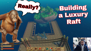 Raft Gameplay Finding Cheatopia Building a luxury Raft with Cheat Engine