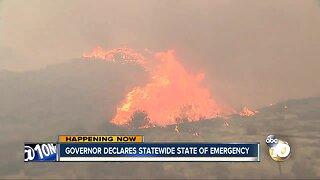 Gov. Gavin Newsom declares statewide emergency as wildfires roar