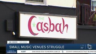 Small music venues struggle