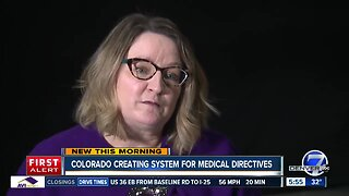 Colorado creating system for medical directives