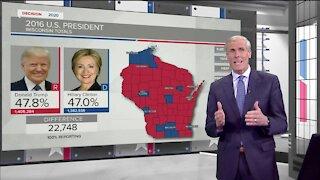 Breaking down voting numbers in Wisconsin
